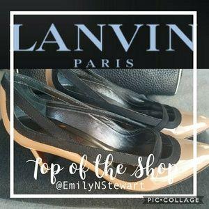 Authentic Lanvin Nude High Heel Pumps👠👠👠